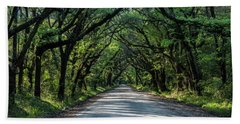 Hand Towel featuring the photograph Tunnel On Botany Bay by Jon Glaser