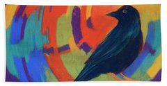 Tunnel Vision Hand Towel by Nancy Jolley