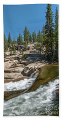 Tuolumne River II Bath Towel