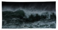 Turbulence Hand Towel by Edgar Laureano