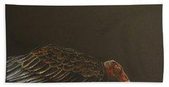 Turkey Vulture Bath Towel by Laurianna Taylor