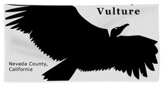 Turkey Vulture Hand Towel