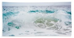 Turquoise Beauty Bath Towel by Shelby Young