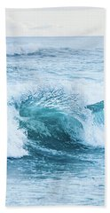 Bath Towel featuring the photograph Turquoise Formations by Parker Cunningham