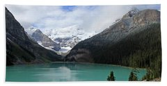 Turquoise Lake Bath Towel