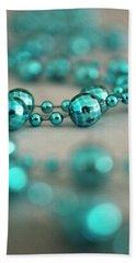 Turquoise Necklace Bath Towel