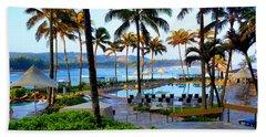Turtle Bay Resort Hawaii Bath Towel