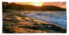 Turtle Bay Sunset 2 Hand Towel