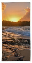 Turtle Bay Sunset 3 Bath Towel