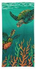 Turtle Love Bath Towel