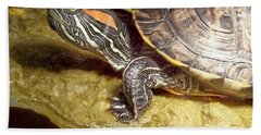 Turtle Reflections Hand Towel