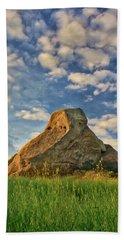 Turtle Rock Bath Towel by Endre Balogh