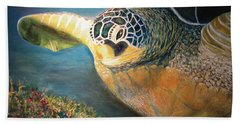 Turtle Run Hand Towel