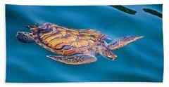 Turtle Up Hand Towel