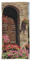 Tuscan Door Hand Towel