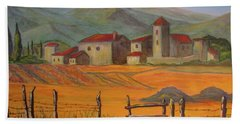 Tuscan Farm Bath Towel