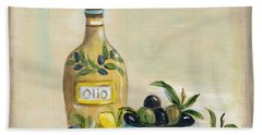 Tuscan Olive Oil  Hand Towel