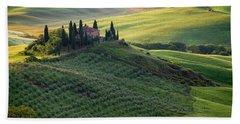 Green Hills Of Val De L' Orca Tuscan Villa Hand Towel