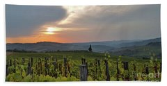 Tuscany Sunset Hand Towel