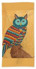 Tutie Fruitie Hootie Owl Bath Towel