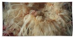 Tutu Bath Towel by Judith Desrosiers
