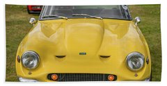 Bath Towel featuring the photograph Tvr Vixen S2 1969 by Adrian Evans