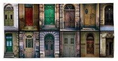 Hand Towel featuring the photograph Twelve Gates Of My Hometown by Jaroslaw Blaminsky