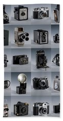 Twenty Old Cameras - Color Hand Towel