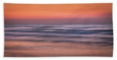Bath Towel featuring the photograph Twilight Abstract by James Woody