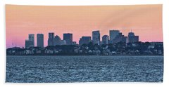 Twilight Boston Hand Towel