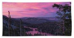 Twilight Mammoth Lakes  Hand Towel