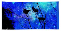 Twilight Hand Towel by MaryLee Parker