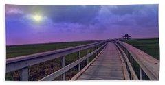 Twilight Nature Walk Hand Towel by Ella Kaye Dickey