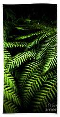 Twilight Rainforest Fern  Hand Towel