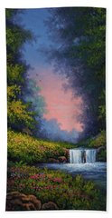 Twilight Whisper Hand Towel by Kyle Wood