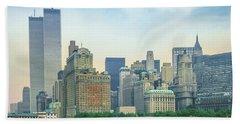Twin Towers New York Bath Towel