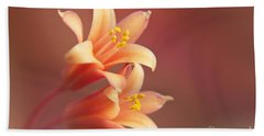 Twin Yucca Flowers Hand Towel