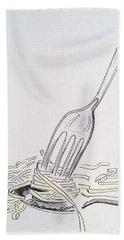 Fettuccini 101 Hand Towel