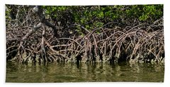 Twisted Mangrove Roots One Hand Towel