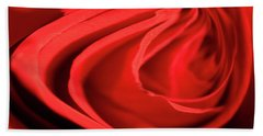Twisted Rose Hand Towel