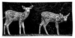 Two Fawns Bath Towel