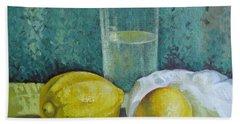 Two Lemons Bath Towel