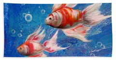 Two Little Fishies Hand Towel