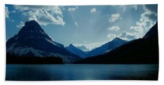Two Medicine Lake Hand Towel