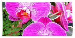 Two Orchids Hand Towel
