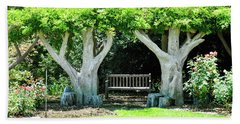 Two Tall Trees, Paradise, Romantic Spot Hand Towel