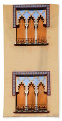 Two Windows Of Cordoba Bath Towel