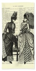 Two Women In Conversation Hand Towel