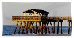Tybee Pier Bath Towel