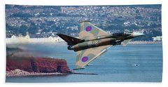 Typhoon Gina At Dawlish Air Show Bath Towel by Ken Brannen